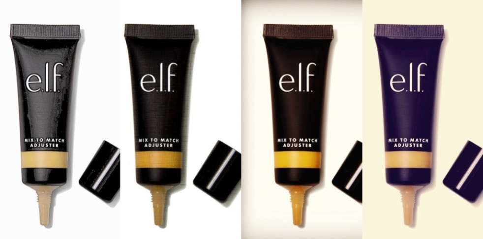 ELF COSMETICS golden foundation adjuster swatch and review